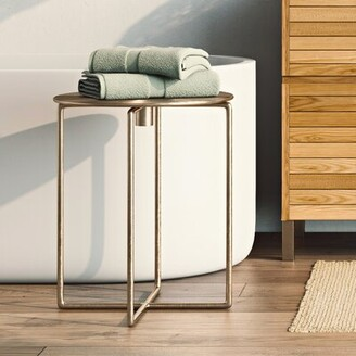 World Menagerie Liptak Spiral Top End Table