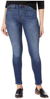 Madewell 10'' High-Rise Skinny Jeans in Danny Wash: TENCEL Denim Edition (Danny) Women's Shorts