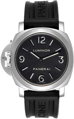 Panerai Black Stainless Steel Luminor PAM00219 Men's Wristwatch 44 MM