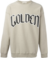 Golden Goose Deluxe Brand typography branded sweatshirt - men - Cotton - S
