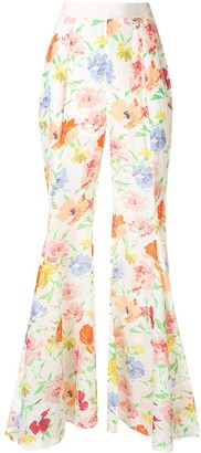 Alice McCall Picasso wide floral trousers