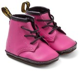 Dr. Martens Pink Crib Lace Booties