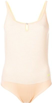 Barrie Cut-Detail Bodysuit Top