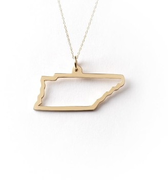 Maya Brenner State Necklace