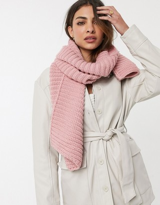 Urban Code Urbancode Infinity scarf In Pink
