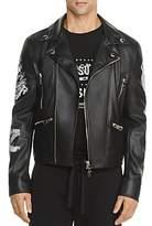 Versace Zayn x Versus Vegan Leather Biker Jacket