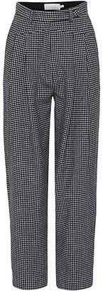 REMAIN Birger Christensen Marionette Houndstooth Trousers