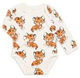 Baby's Printed Organic Cotton Bodysuit