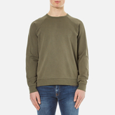 Ymc Almost Grown Sweatshirt Olive