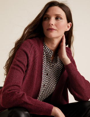 Marks and Spencer Textured Longline Cardigan