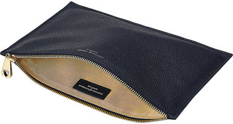 Aspinal of London Essential large leather pouch