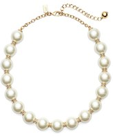 Kate Spade Women's Faux Pearl Collar Necklace