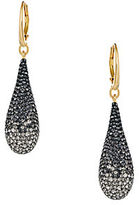 Swarovski Abstract Pave Crystal Teardrop Earrings