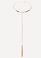 Bebe Lariat Collar Necklace