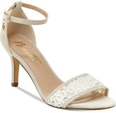Nanette Lepore Nanette by Beauty Two-Piece Crochet Sandals Women's Shoes