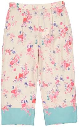 Vilshenko Beige Silk Trousers