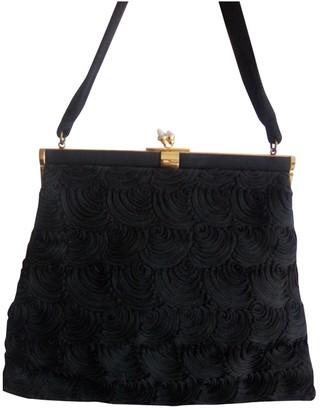 Non Signã© / Unsigned Black Cotton Handbags
