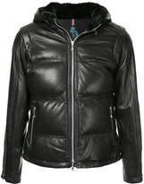 GUILD PRIME zipped padded jacket