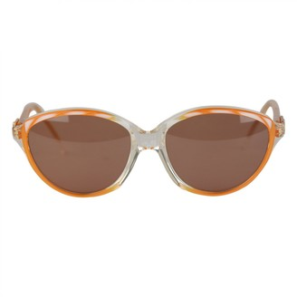 Saint Laurent Orange Plastic Sunglasses