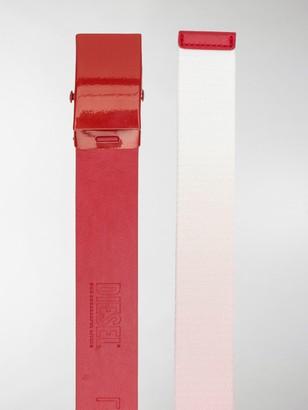 Diesel Red Tag x Gr Uniforma adjustable waist belt