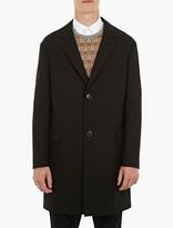 Lanvin Black Drop-shoulder Coat
