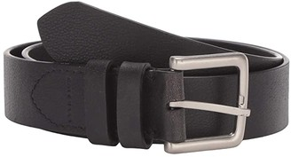 Cole Haan 35 mm Leather Strap with Cut Edge Double Loop