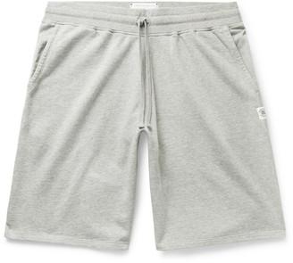 Reigning Champ Wide-Leg Loopback Pima Cotton-Jersey Drawstring Shorts