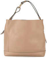 Marni Halo pod tote bag - women - Calf Leather/Brass - One Size