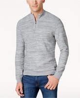 Alfani Men's Quarter-Zip Knit Sweater, Created for Macy's