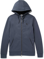 Nike Essentials Stretch-Cotton Fleece Zip-Up Hoodie