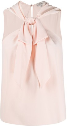Temperley London Tied Ruffle Blouse
