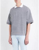 Fear Of God Short-sleeved cotton-blend sweatshirt