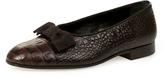 Vivienne Westwood La Scala Court Slippers Chocolate Brown Size UK 6