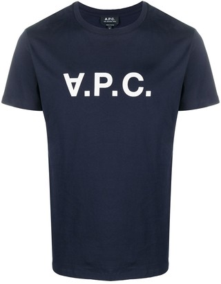 A.P.C. Logo-Print Short-Sleeved T-Shirt