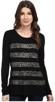 NYDJ Fine Gauge Stripe Dequin Sweater