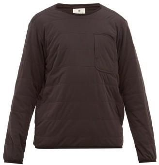 Snow Peak Flex Insulated Pullover Sweatshirt - Mens - Black