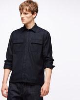 Italian Wool Cotton Overshirt