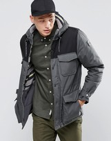 Element Hemlock 2 Tone Parka Stone Grey