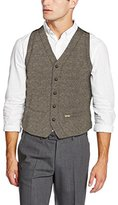 Luis Trenker Men's Wasti Traditional Dress Waistcoat