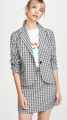 BB Dakota Gingham Style Jacket