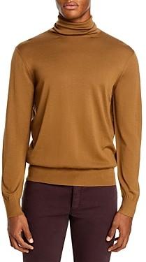 Ermenegildo Zegna Merino Wool Slim Fit Turtleneck Sweater