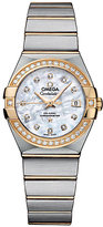 Omega Constellation ladies' two colour bracelet watch