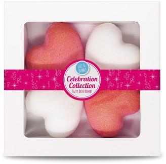 Fizz & Bubble Celebration Collection: Hearts & Stars Bath Bomb Gift Box