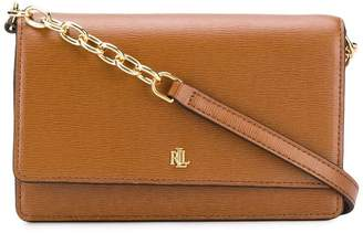 Lauren Ralph Lauren monogram plaque crossbody bag