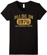 Børn Women's in 1976 Tshirt 41th Birthday Gifts 41 yrs Years Made in Small