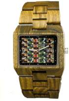 Earth Wood Rhizomes Bracelet Watch.