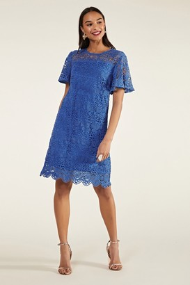 Yumi Scalloped Lace Tunic
