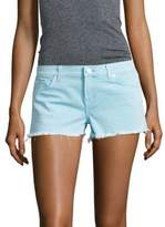 Hudson Kenzie Neon Cut Off Shorts