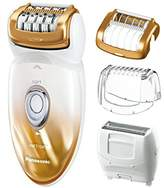 Panasonic ES-ED50-N Multi-Functional Wet/Dry Shaver and Epilator for Women, Women's with Four Hair Removal Attachments and Travel Pouch