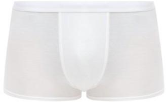 CDLP Lyocell-blend Boxer Trunks - White